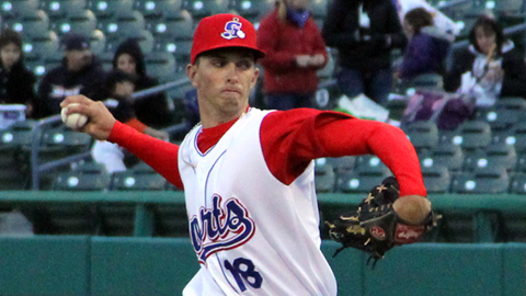 A.J. Cole went 4-7 with a 4.04 ERA at Class A Hagerstown last season.