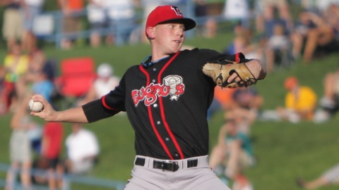 Tucker Jensen made one start for Class A Lansing last season.